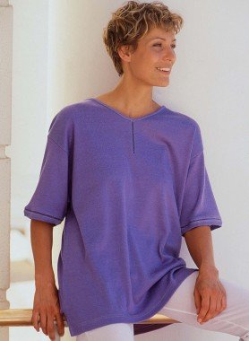 Top,  insertion tricot