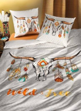 "Garniture de lit ""WILD-BUFFALO"""