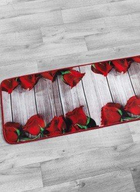 "Tapis de cuisine ""DIGITAL"" Roses"