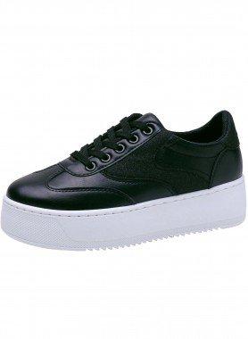 Sneaker, semelle à plateau
