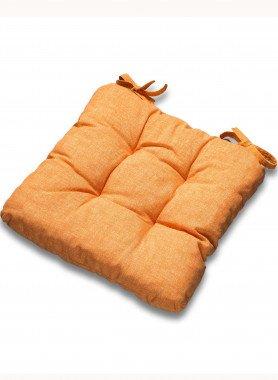 """Coussins de chaise """"GERBERA"""" uni, 2pc.par couleur"""