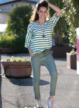 Pantalon,look plissé tendance