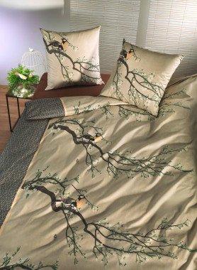 """Literie en fibre de bambou """"BIRDS-SPRING"""""""