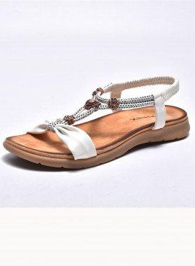 Sandales, bijoux décoratifs