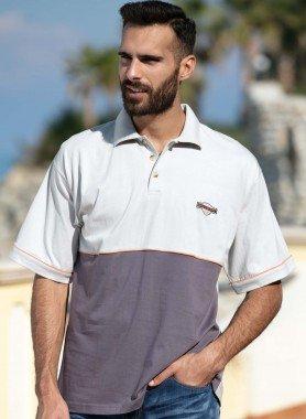Shirt à manches courtes, passepoil