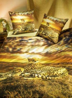 """Garniture de lit """"GEPARD"""", impression numérique"""