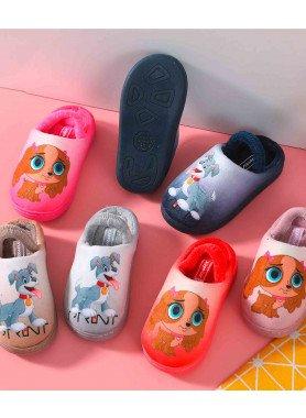"""Chaussons pour enfants """"Chiens"""