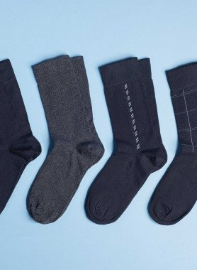 Socquettes pour hommes, 5 paires