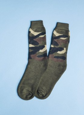 Socquettes militaire, 4 paires