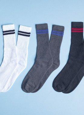 Socquettes de tennis unisexes, 5 paires