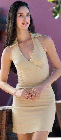 D-Kleid-rückenfrei beige L 008 - 3 - Ronja.ch