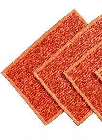 Tisch-Set,Recht.,4 st. orange - 3 - Ronja.ch