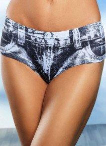 D-Panty-Jeans,3er-S.schw/weiss XL 062 - 1 - Ronja.ch