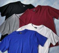 H-KA-Shirt, uni schwarz L 010 - 1 - Ronja.ch