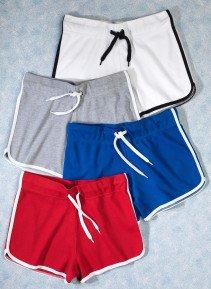 D-Shorts,Kontr.Streifen k'blau L 052 - 2 - Ronja.ch