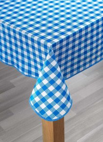 Tischdecke,Kölsch blau 140x180 - 3 - Ronja.ch