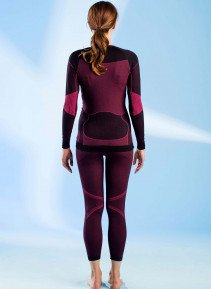 D-LA-Thermo-Shirt schw/pink S/M 398 - 3 - Ronja.ch