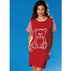 Longshirt, *Teddy* disp.en 2 couleurs