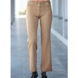 Pantalon élégant en gabardine