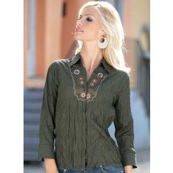 Blouse ,manches 3/4