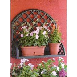 Etagères à fleurs murale