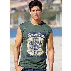 Shirt athlétique «CHEVROLET»