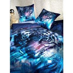 Garniture de lit , impr.numérique  *MAGIC-TIGER*