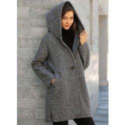 Manteau à capuchon