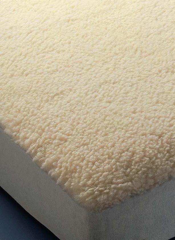 Coprimaterasso in lana d'agnello