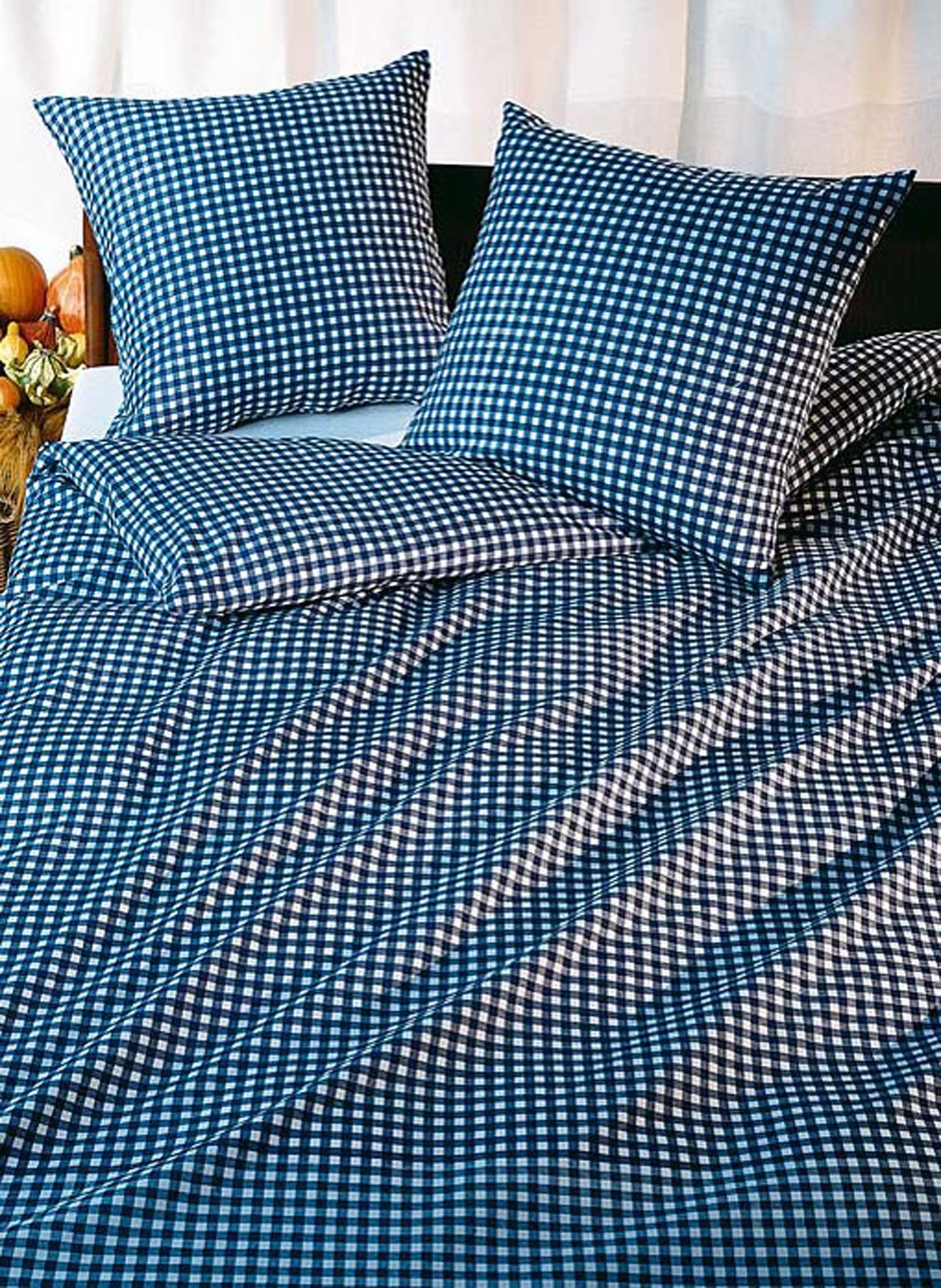 Garnitur DS Köl. blau/weiss 65x100+135x170cm - 2 - Ronja.ch