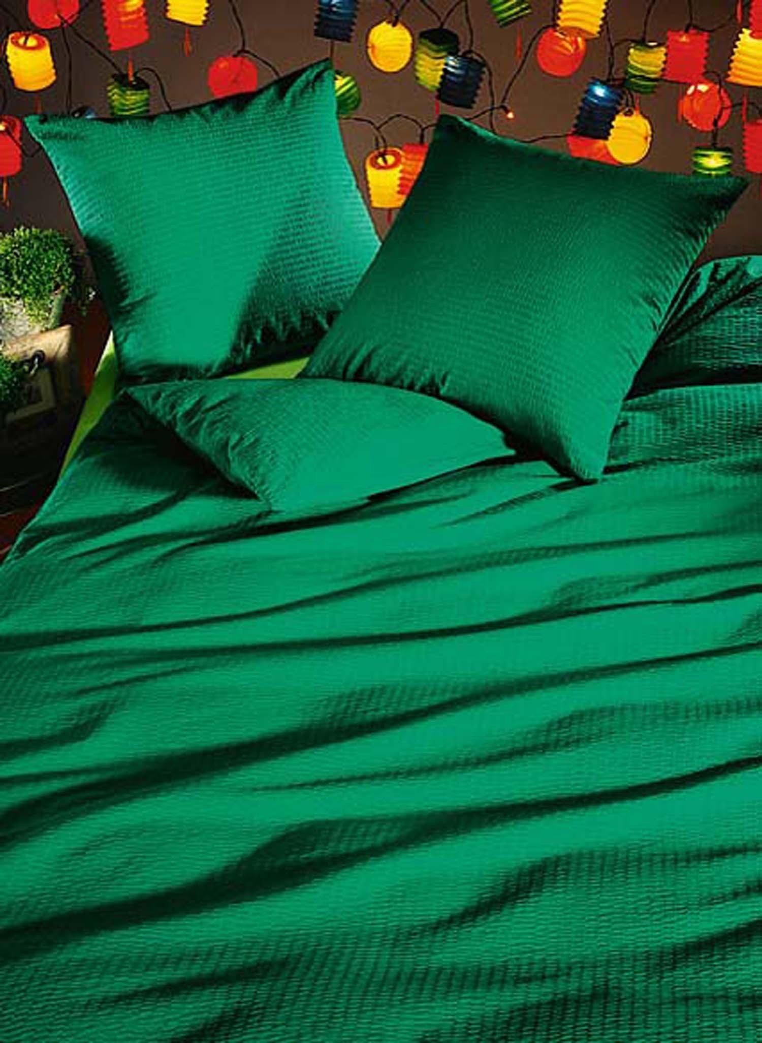 Garn.DS Seersucker grün 65x100+135x170cm - 7 - Ronja.ch
