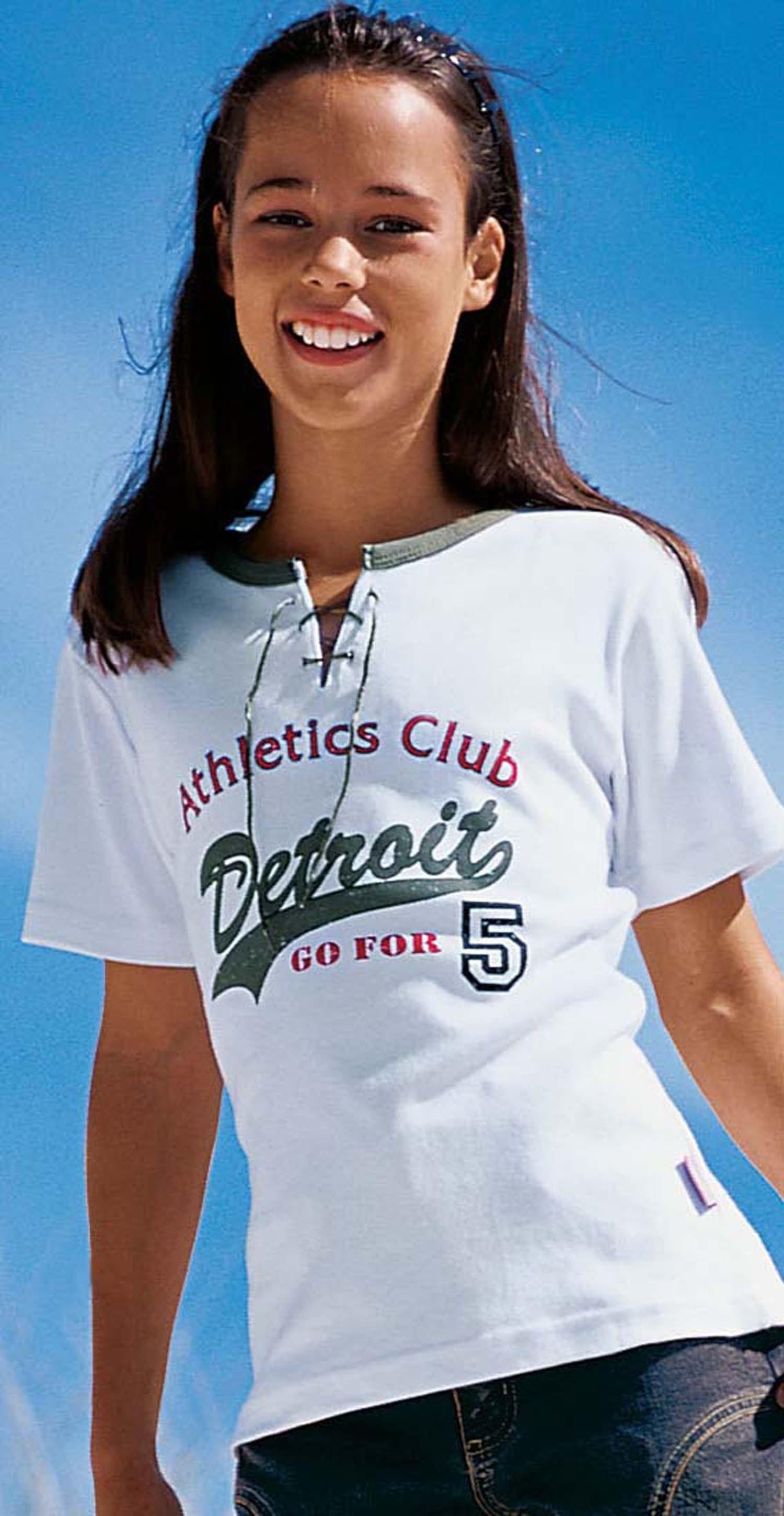 """MD-T-Shirt""""Detroit"""" weiss 128 001 - 1 - Ronja.ch"""