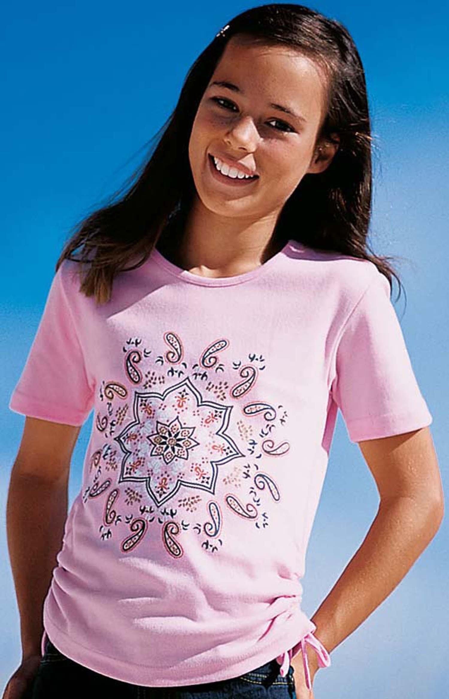 """MD-T-Shirt """"Medaillon"""" ciel 128 051 - 1 - Ronja.ch"""