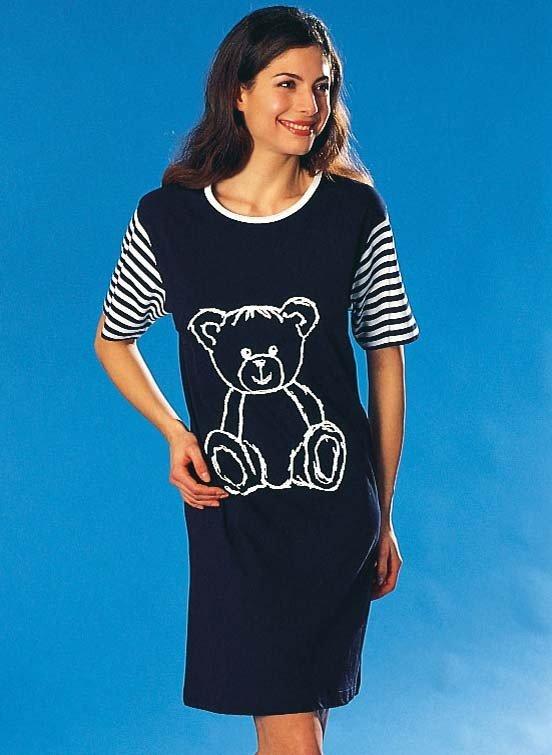 Longshirt, *Teddy* disp.en 2 colori