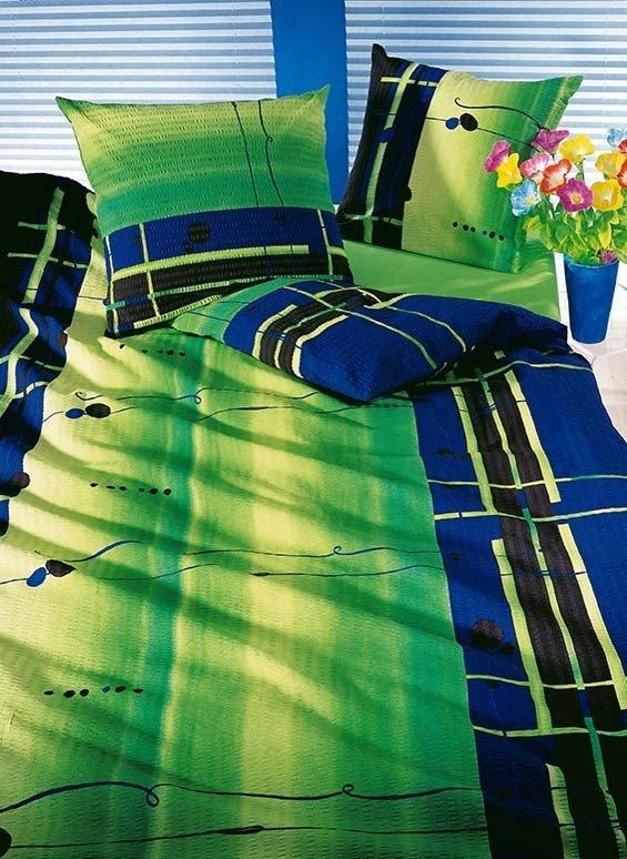Biancheria da letto in Seersucker  «AMALFI»