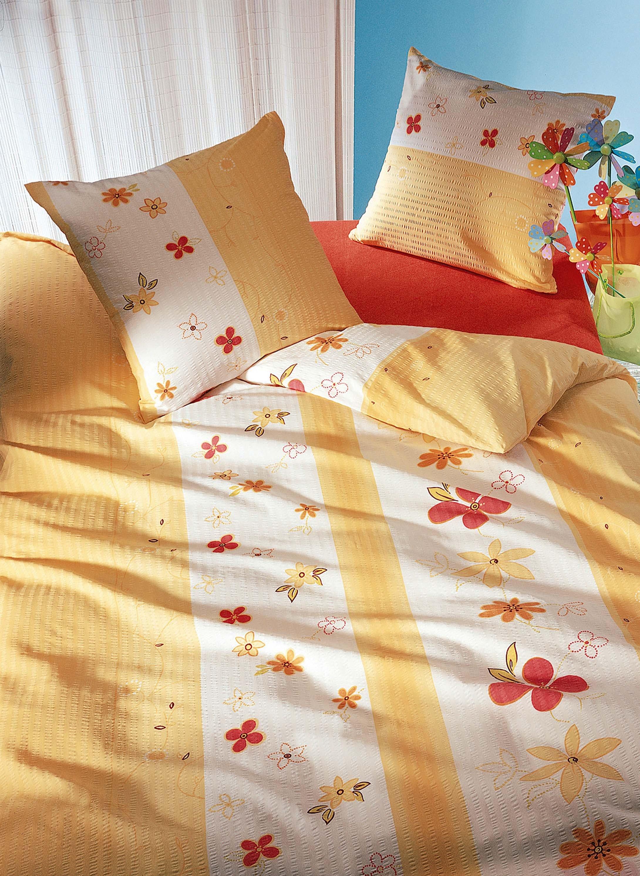 Biancheria da letto in seersucker  «SPRING»