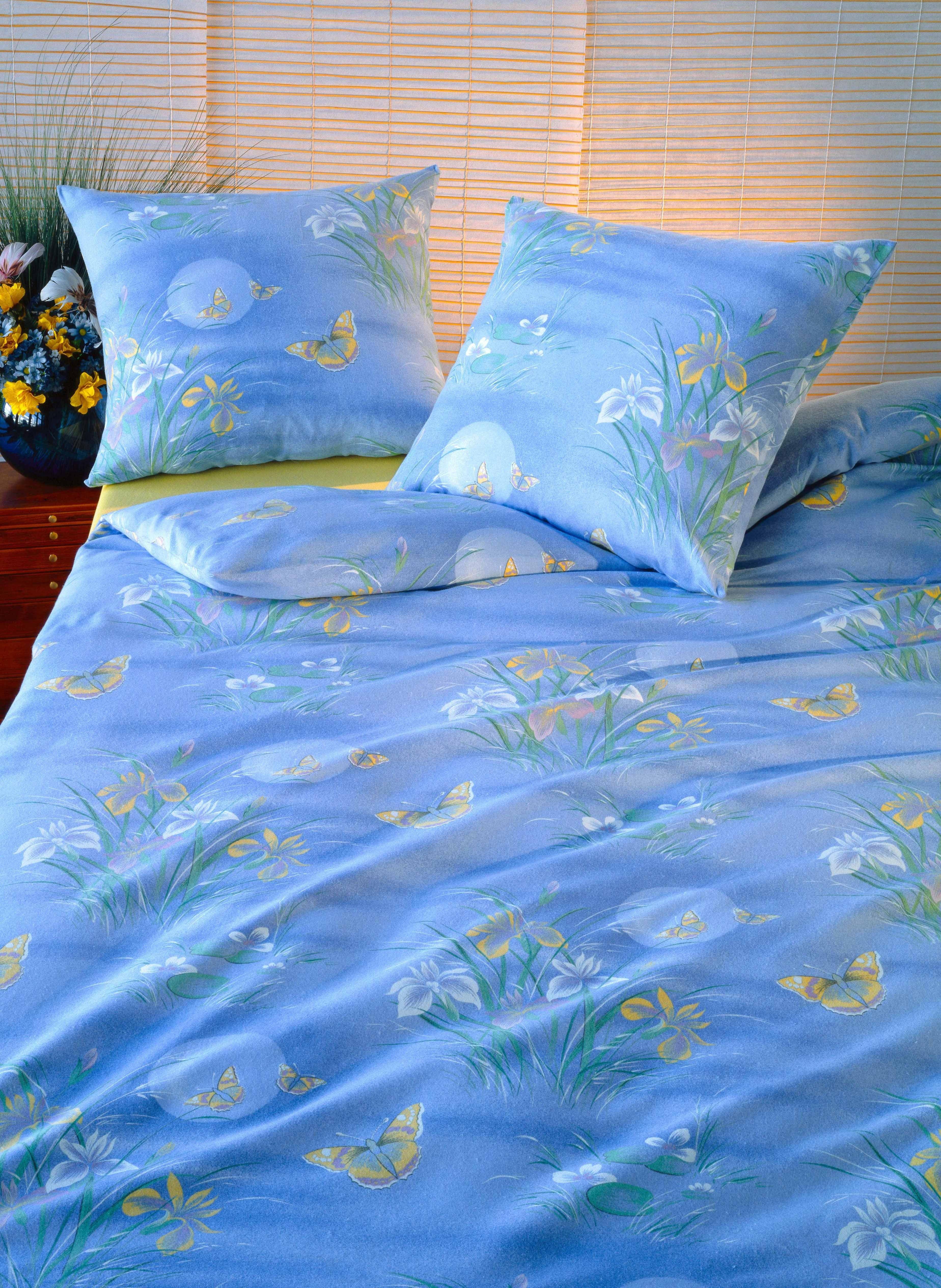 """Biancheria da letto in flanella   """"SCHMETTERLING"""""""