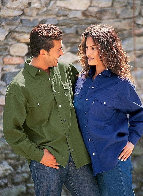 Camicie Colors-Jeans - Per Lei e Lui ! disp.in 2 versioni