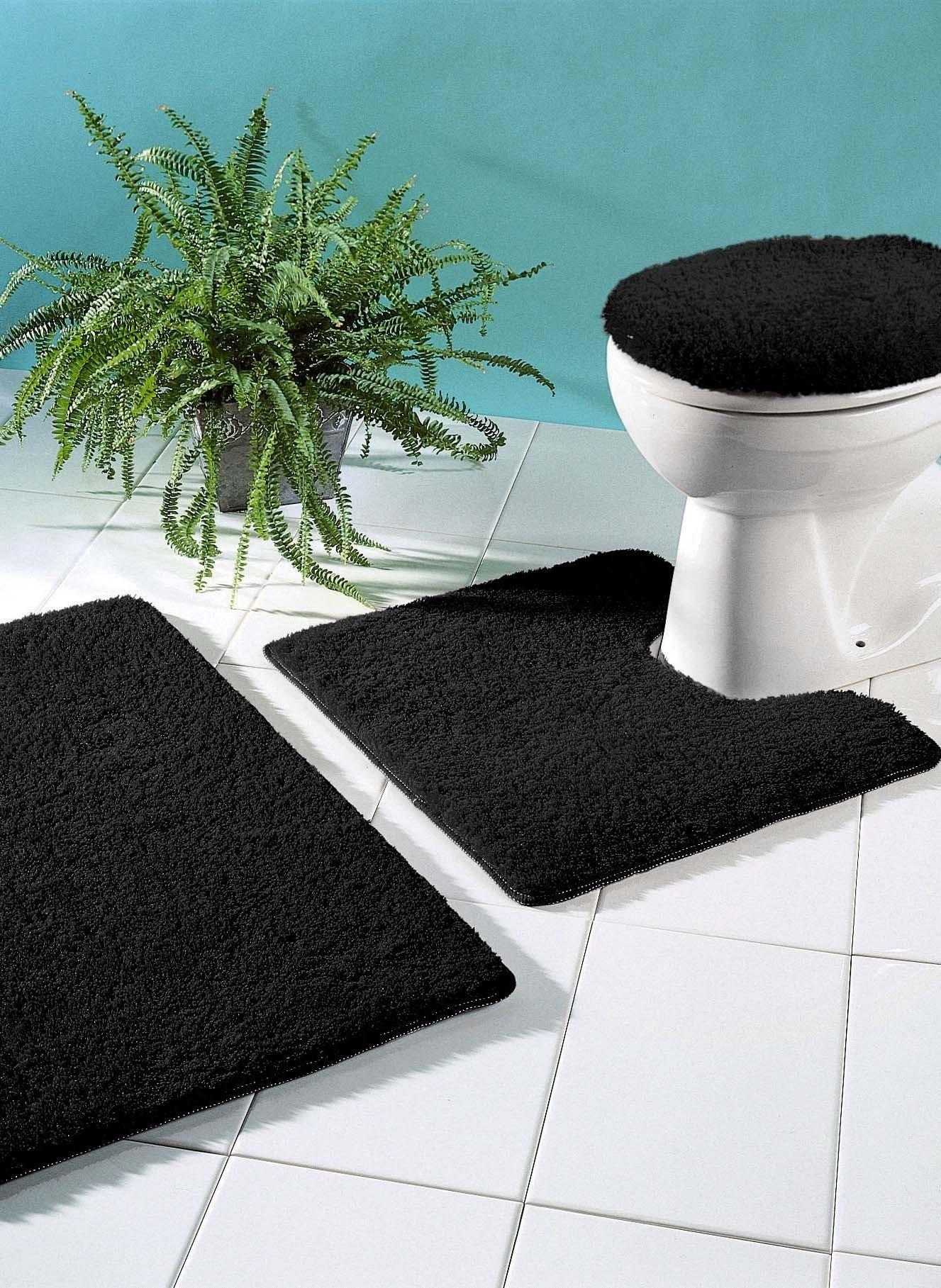 Garnitura per bagno/WC tinta unita , con taglio