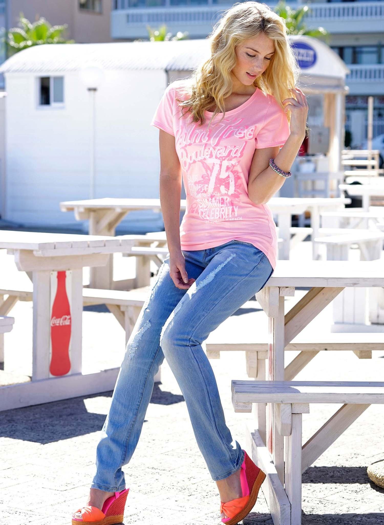 D-Jeans,Röhrli/Strass,Blue-D. 34 050 - 1 - Ronja.ch