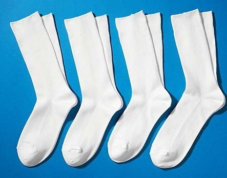 D-City-Socken,4er-Set,weiss 3538 001
