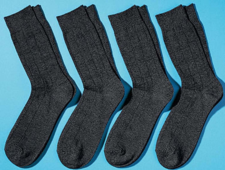 H-Business-Socken 4er-Set,anth 3942 013