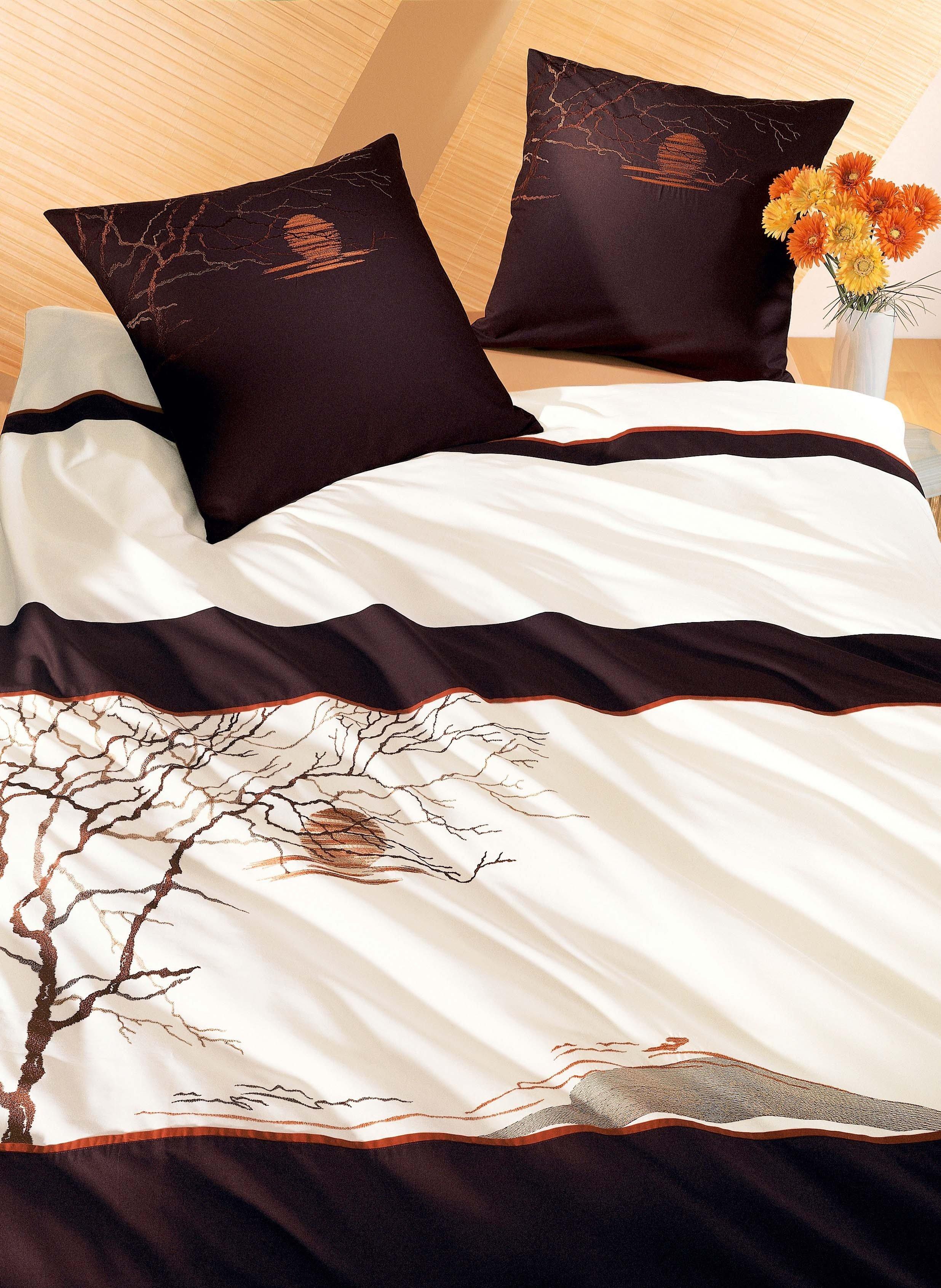 Biancheria da letto in satin «COUNTRY»
