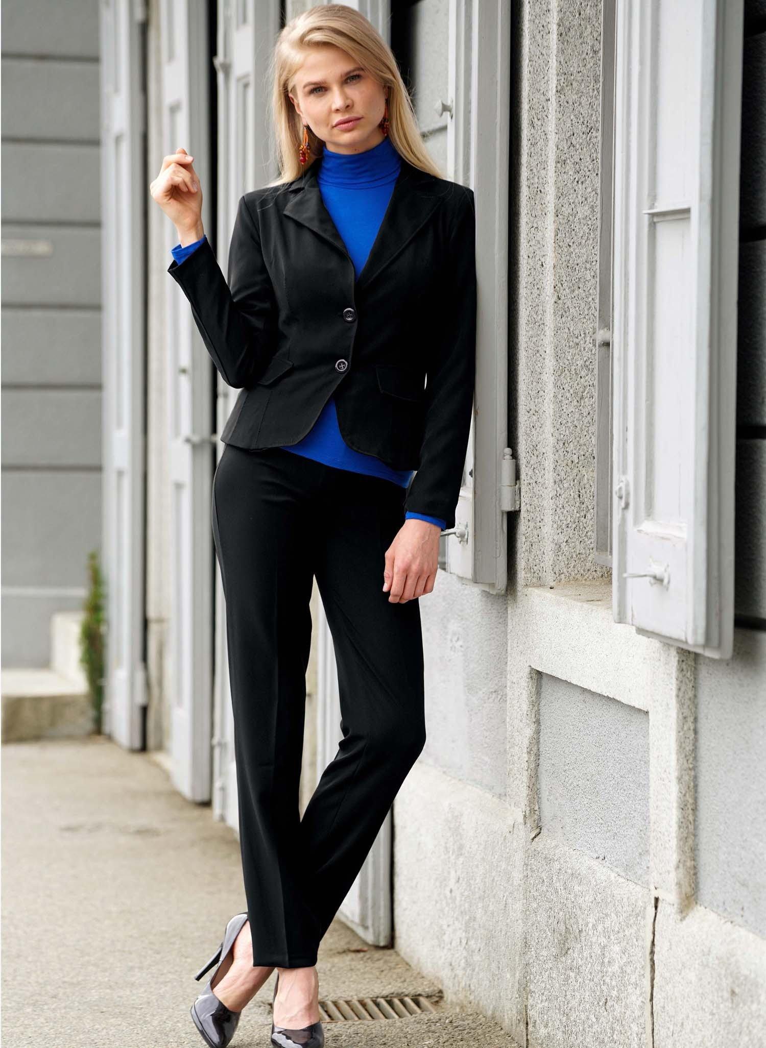 D-Hosen-Anzug schwarz 36 010 - 2 - Ronja.ch