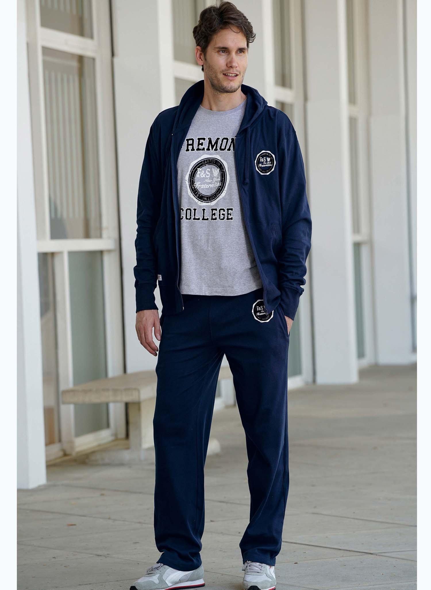 "H-Pantalone ""COLLEGE"" marine"