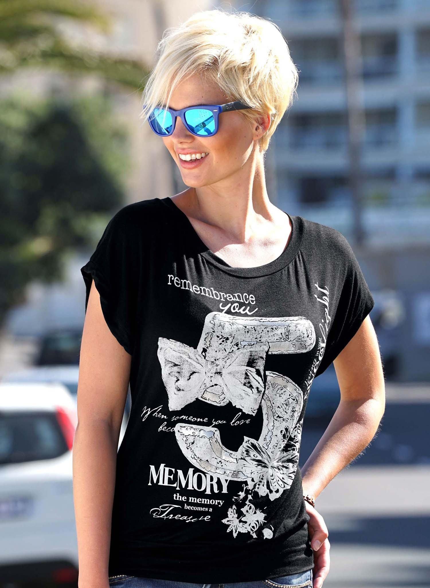 "D-KA-Shirt ""Nr.5"" schwarz L 010 - 2 - Ronja.ch"