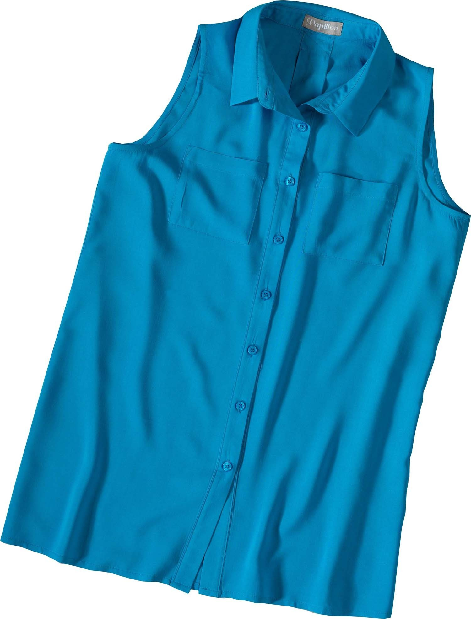 D-Gilet-Bluse weiss M 001 - 4 - Ronja.ch