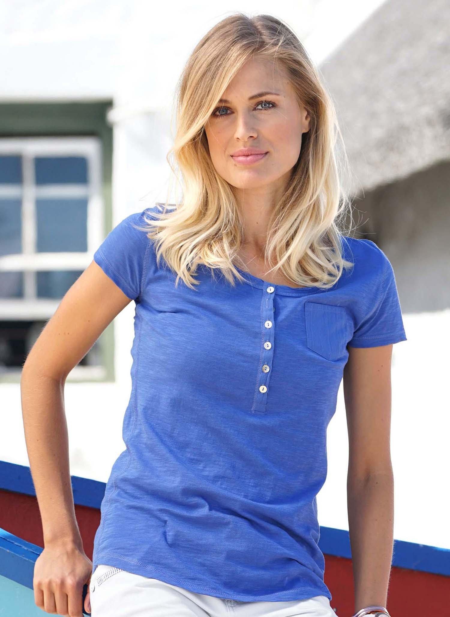 D-KA-Shirt,Perlmuttk.k'blau L 052 - 1 - Ronja.ch