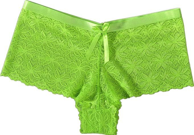 D-NEON-Panty,3er-Set grün S 082