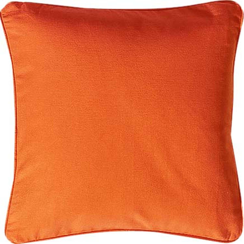 Zierkissen 40x40cm, orange - 1 - Ronja.ch